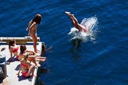 Swim From The Dock