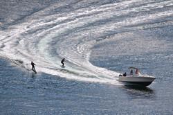 Duel Water Skiers