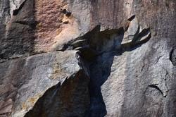 Spirit Man in the Granite