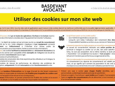 KDS #XIV. Utiliser des cookies sur mon site web