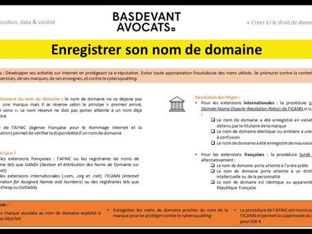 KDS #III. Enregistrer son nom de domaine pour exploiter son activité sur Internet