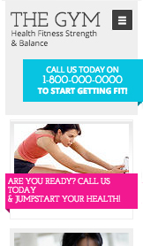 See All Templates website templates – The Gym