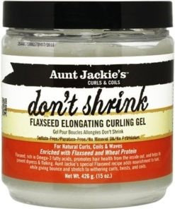 Aunt Jackie's	Don't Shrink Flaxseed Elongating Curling Gel