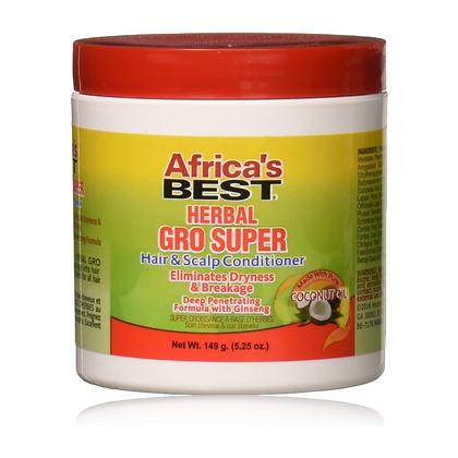 Africa's Best Herbal Gro Hair & Scalp Conditioner 5oz