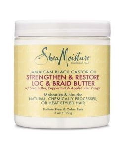 Shea Moisture 	Jamaican Black Castor Oil Lock Braid Butter