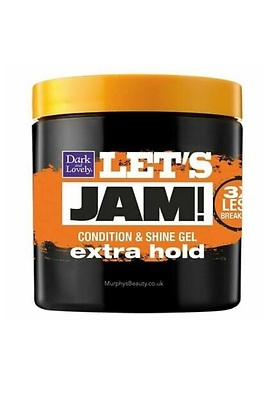 Lets JAM! Condition & Hold Gel Extra Strength By Dark & Lovely