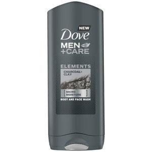 DoveMens Shower Gel Charcoal & Clay