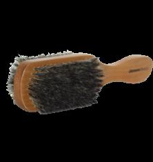 JB Hair BrushesWooden Hair Brush - Double Sided Medium/Hard