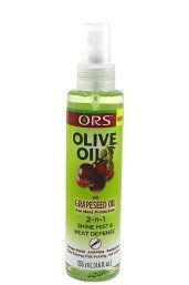 ORS	Olive Oil Grape seed oil 2 in 1 heat spray