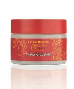 Creme of Nature	Argan Oil Curly Range Twisting Custard