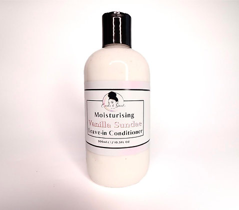 Curls & Swirls Vanilla Sundae Leave-In Conditioner