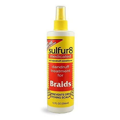 Sulfur8 Medicated Anti-Dandruff Braid Spray
