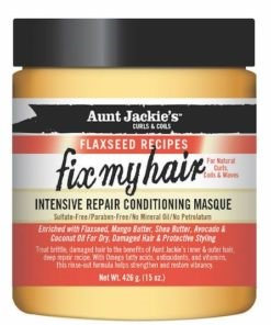 Aunt Jackie's	Fix My Hair Flaxseed Repair Conditioning Masque