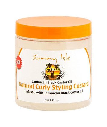 Sunny IslesJamaican Black Castor Oil Curly Custard