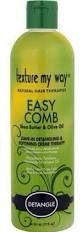 Texture My Way Easy Comb Shea Butter/Olive Oil Leave In