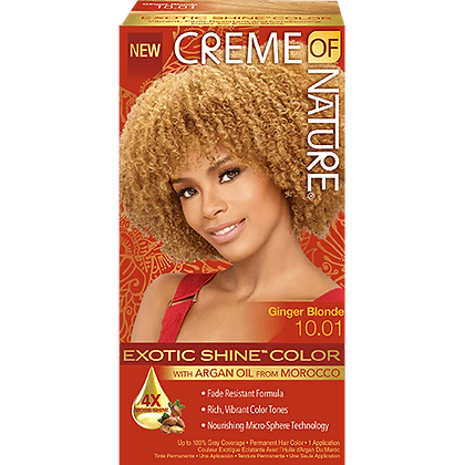 Creme of Nature Hair Dye Exotic Shine - Colour Ginger Blonde 10.0