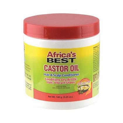 Africa's Best Castor Oil Gro Hair & Scalp Conditioner 5oz