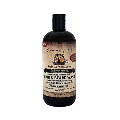 Sunny IslesJamaican Black Castor Oil Beard & Hair Wash