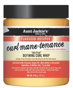 Aunt Jackie'sFlaxseed Curl Mane-Tenance Curl Whip