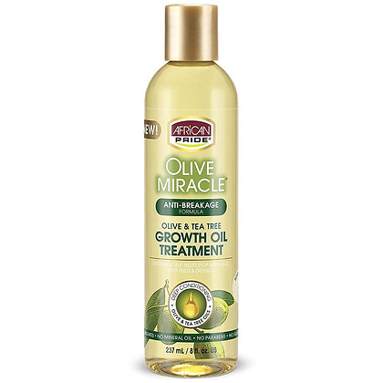 African Pride Olive Miracle Anti-Breakage Growth Oil 8oz