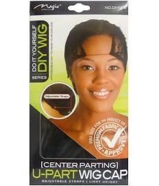 Centre Parting U-Part wig cap - Adjustable