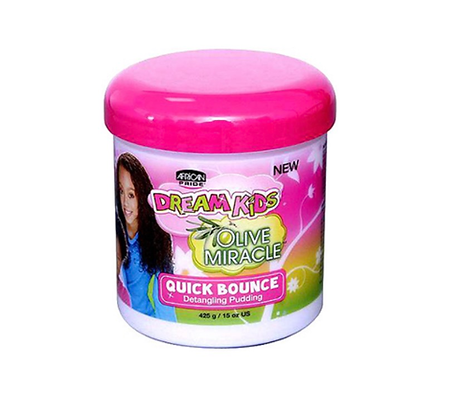 African Pride Olive Miracle Detangling Pudding For Kids