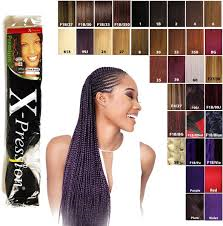 X-Pression Hair Extension	Colour No1b/33