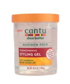 CantuStengthening Styling Gel with Jamaican Black Castor Oil