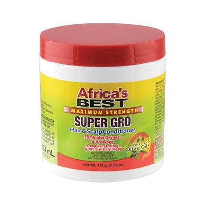 Africa's Best Maximum Strength Super Gro Hair & Scalp Conditioner 5oz