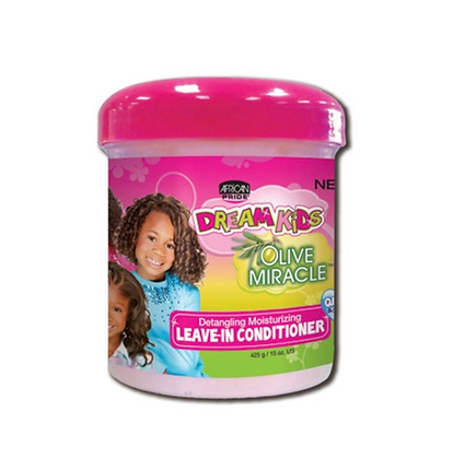 African Pride Olive Miracle Leave In Conditioner For Kids