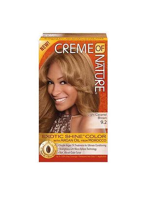 Creme of Nature Hair Dye Exotic Shine - Colour Light Caramel Brown 9.2