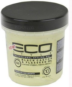 ECOProfessional Styling Gel - Black Castor & Flaxseed Oil