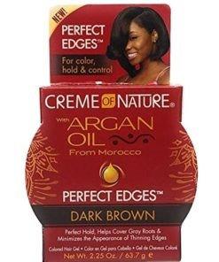 Creme of NatureArgan Oil Perfect Edges Jar - Dark Brown