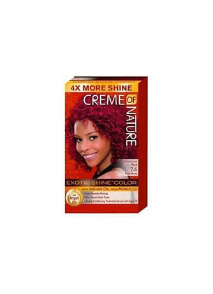 Creme of Nature Hair Dye Exotic Shine - Colour Intense Red 7.6