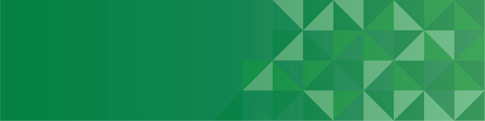 CaptureFlow webpage header; a gradient green with contrasting gradient green squares in the bottom right corner.