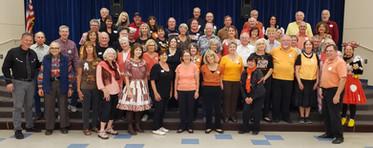 Oct 31 - Orange and Black Night