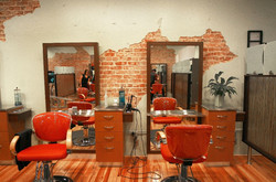 some salon stations