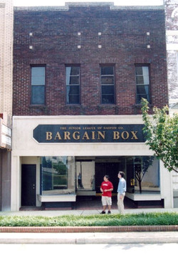 before in 2004 the Bargain Box