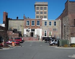 Back of Merit Building after 2008