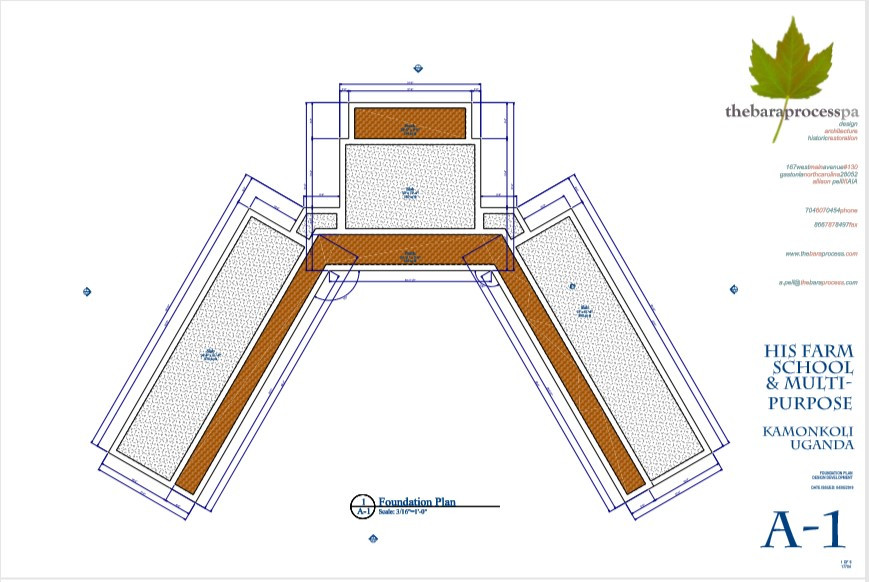 17704-Kalakami School A1 foundation plan