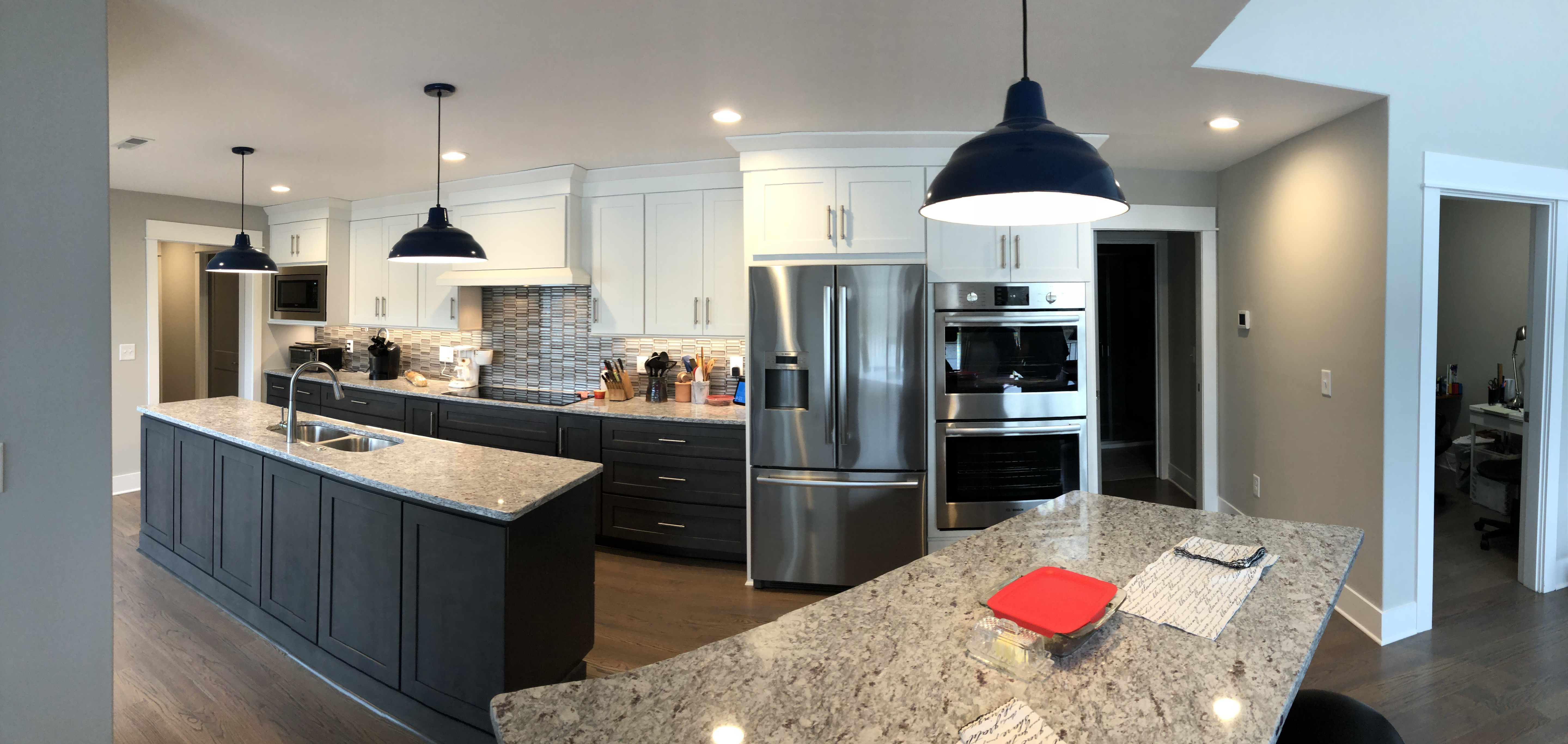 AFTER the remodeled kitchen