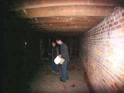back part of basement prior 2004