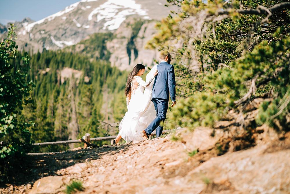 Colorado Elopement in Rocky Mountain National Park