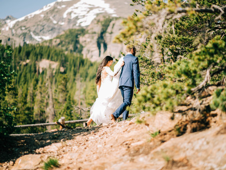 Jennifer + Nick Rocky Mountain Elopement