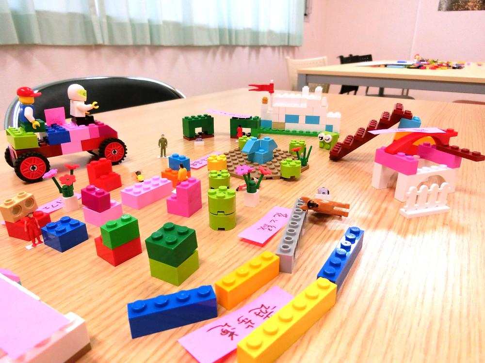参加者が作成した「場」のデザイン