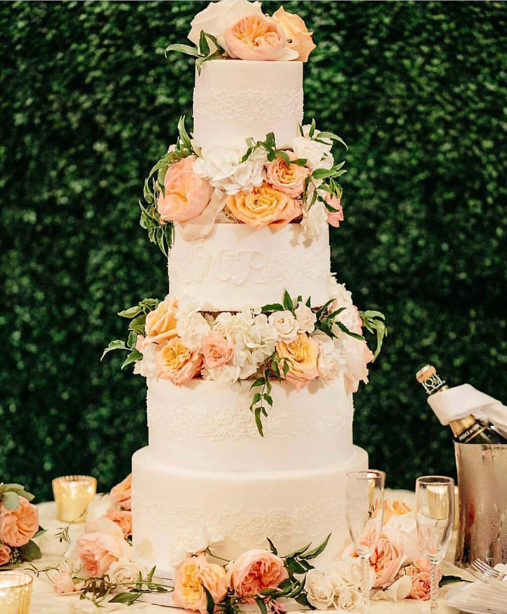 Magnificent wedding cake from Sweet Treets Bakery