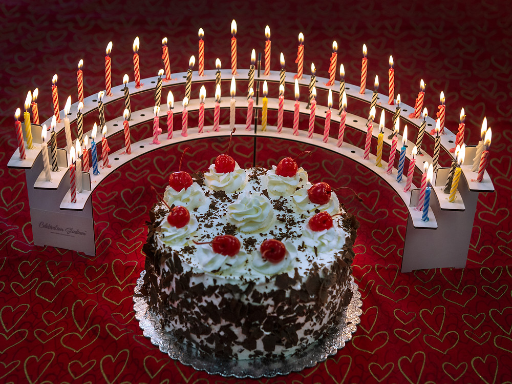 Celebration Stadium at Dagmar's Desserts, Old Saybrook, CT famous Black Forest Cake
