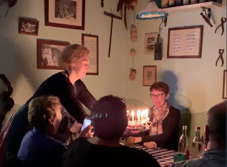 Birthdays Travel Too:  Celebration Stadium Goes to Italy
