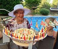 Milestone birthday poolside Celebration_
