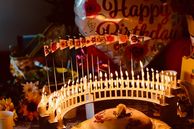Personalize your loved one's birthday party.  Ideas using Celebration Stadium.